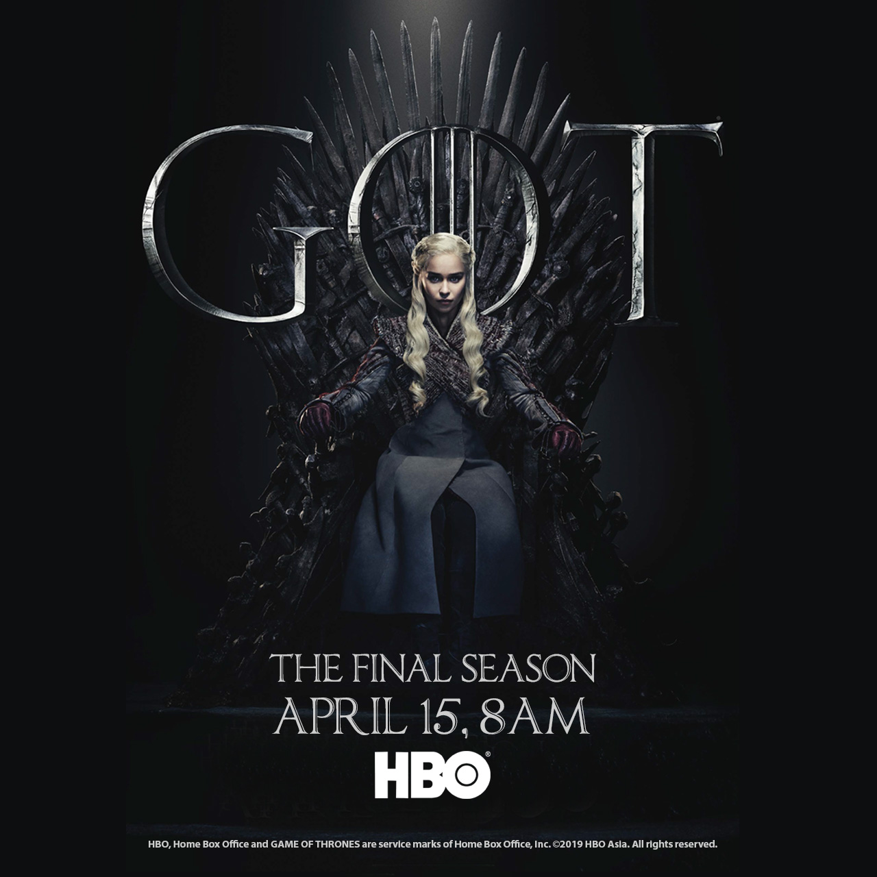 GAME OF THRONES SEASON 8 PREMIERE SCREENING IN SINGAPORE